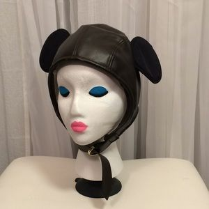 Disneyland Mickey Mouse Ears Aviator Hat Youth